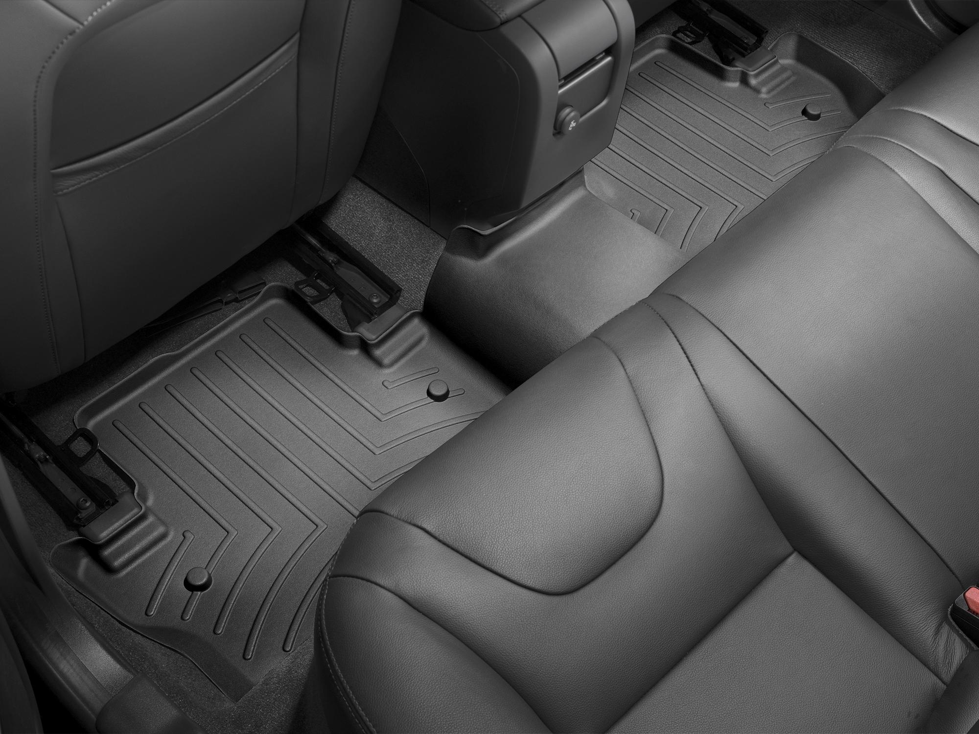 Tappeti gomma su misura bordo alto Volvo V60 Cross Country 15>17 Nero A4405*