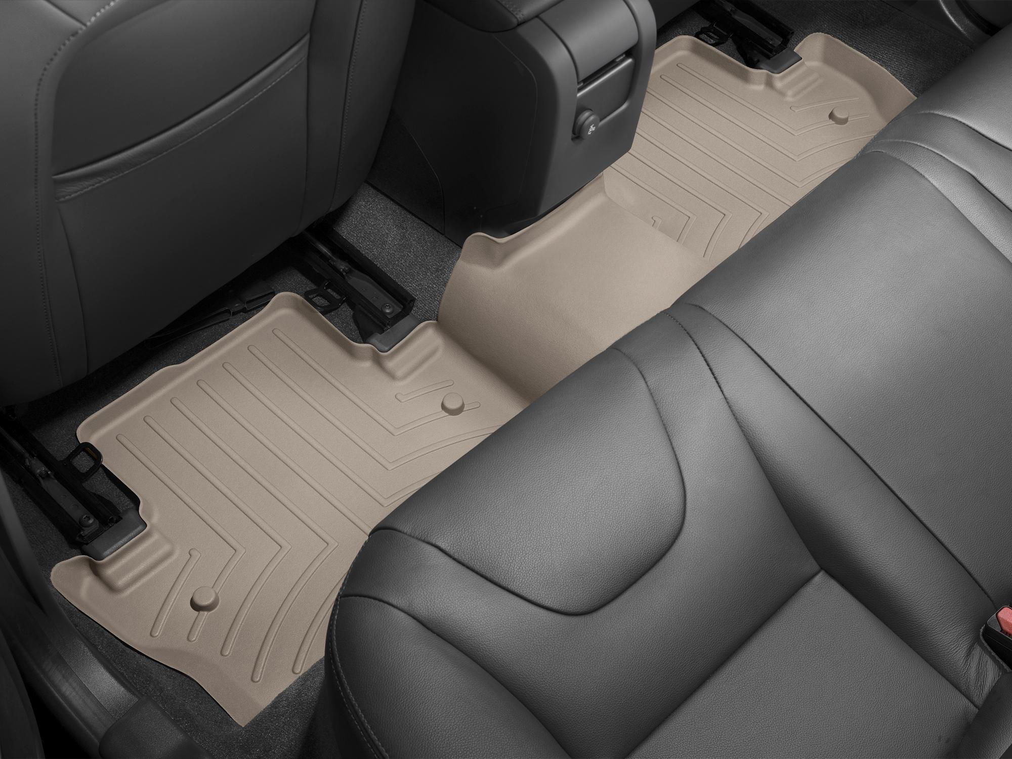 Tappeti gomma su misura bordo alto Volvo V60 Cross Country 15>17 Marrone A4403*