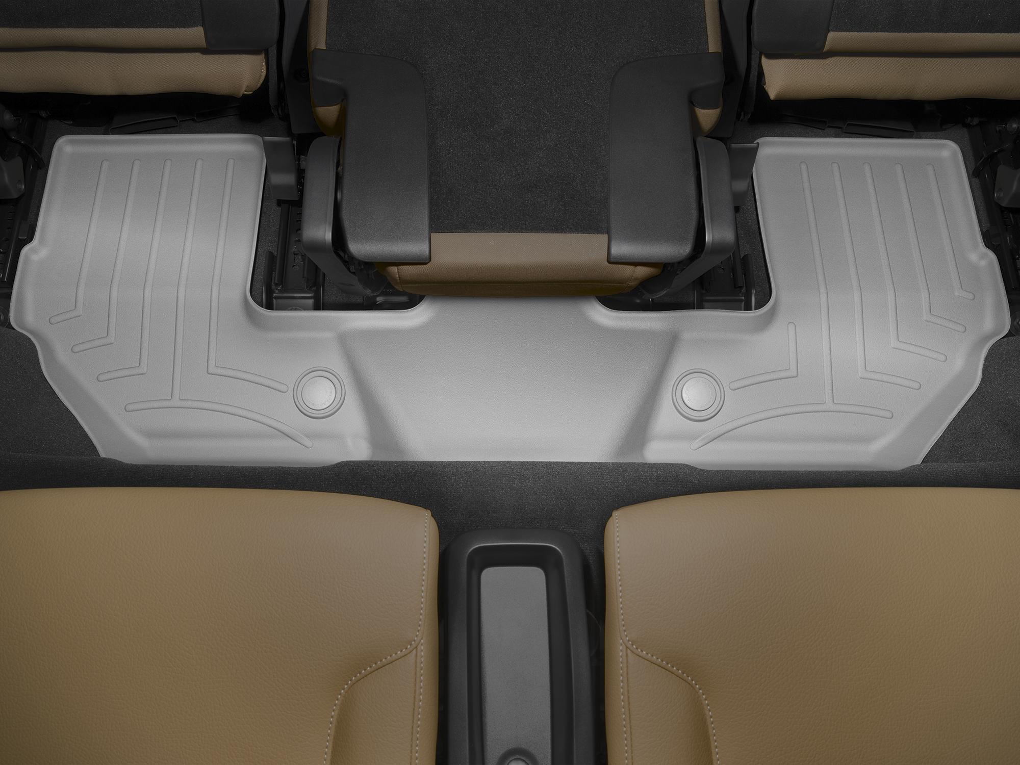 Tappeti gomma su misura bordo alto Volvo XC90 15>17 Grigio A4455*