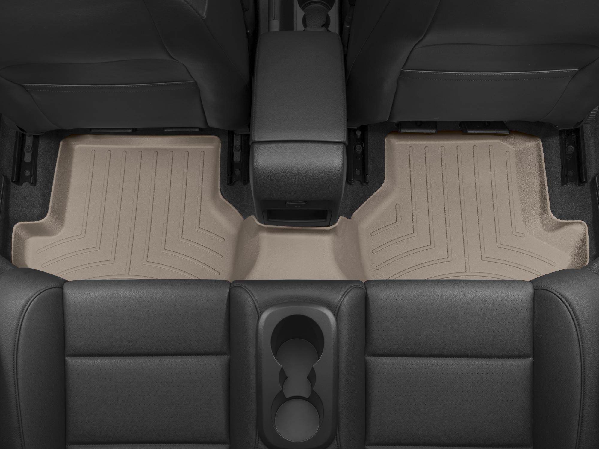 Tappeti gomma su misura bordo alto Volkswagen Eos 07>16 Marrone A4011*
