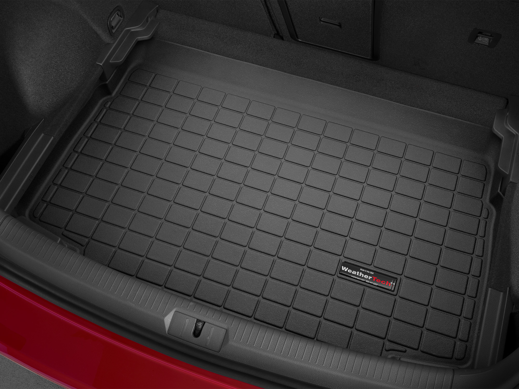 Volkswagen Golf GTI 2013>2017 Vasca baule tappeto bagagliaio nero *1363