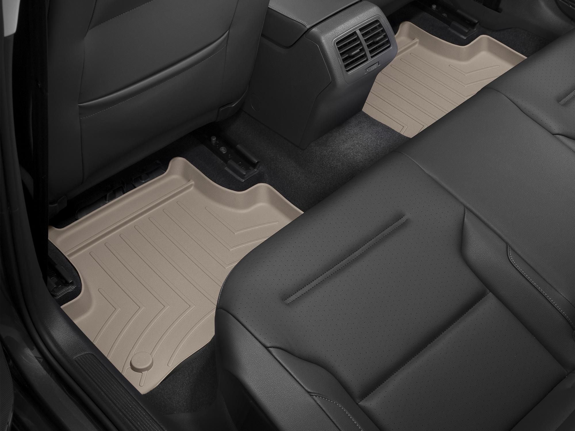 Tappeti gomma su misura bordo alto Volkswagen Golf 4Mot.13>17 Marrone A4067*