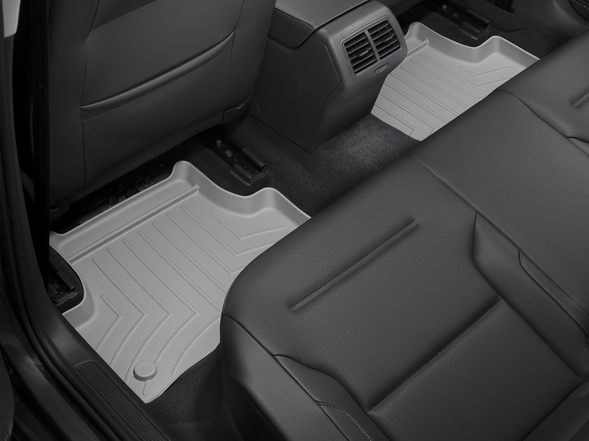 Tappeti gomma su misura bordo alto Volkswagen Golf 13>17 Grigio A4059*