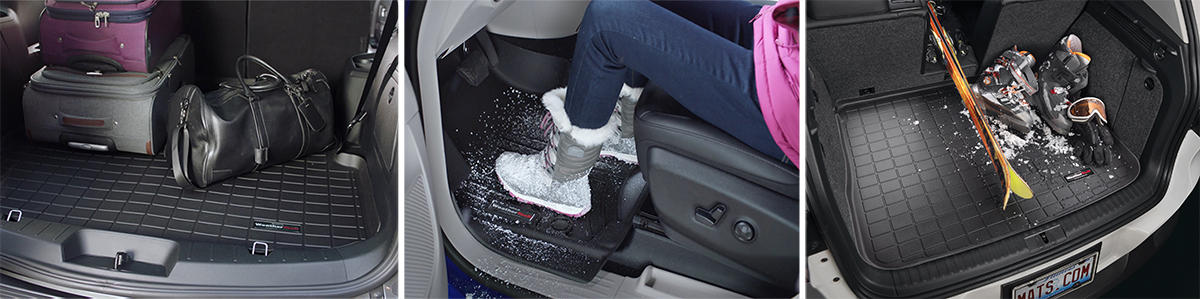 WeatherTech products in use