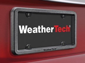 BumpFrame Heavy-Duty License Plate and Bumper Protector & License Plate Frames | WeatherTech