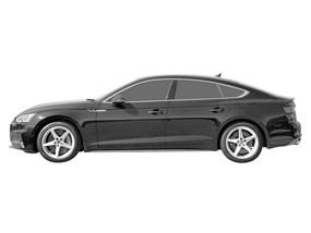 Bâche pour Audi s5 f5 Coupé Coupe 3-porte 07.16