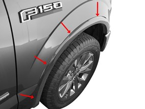 F150 Mud Flaps >> 2019 Ford F 150 Mud Flaps Laser Measured Splash Guards