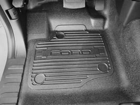 2017 Ford F 250 F 350 F 450 F 550 Floor Mats Laser