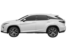 2019 Lexus RX | Windshield Sun Shade - Custom Car Window and