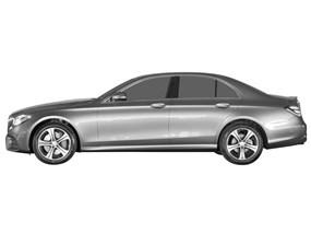 2019 Mercedes-Benz E-Class | Windshield Sun Shade - Custom
