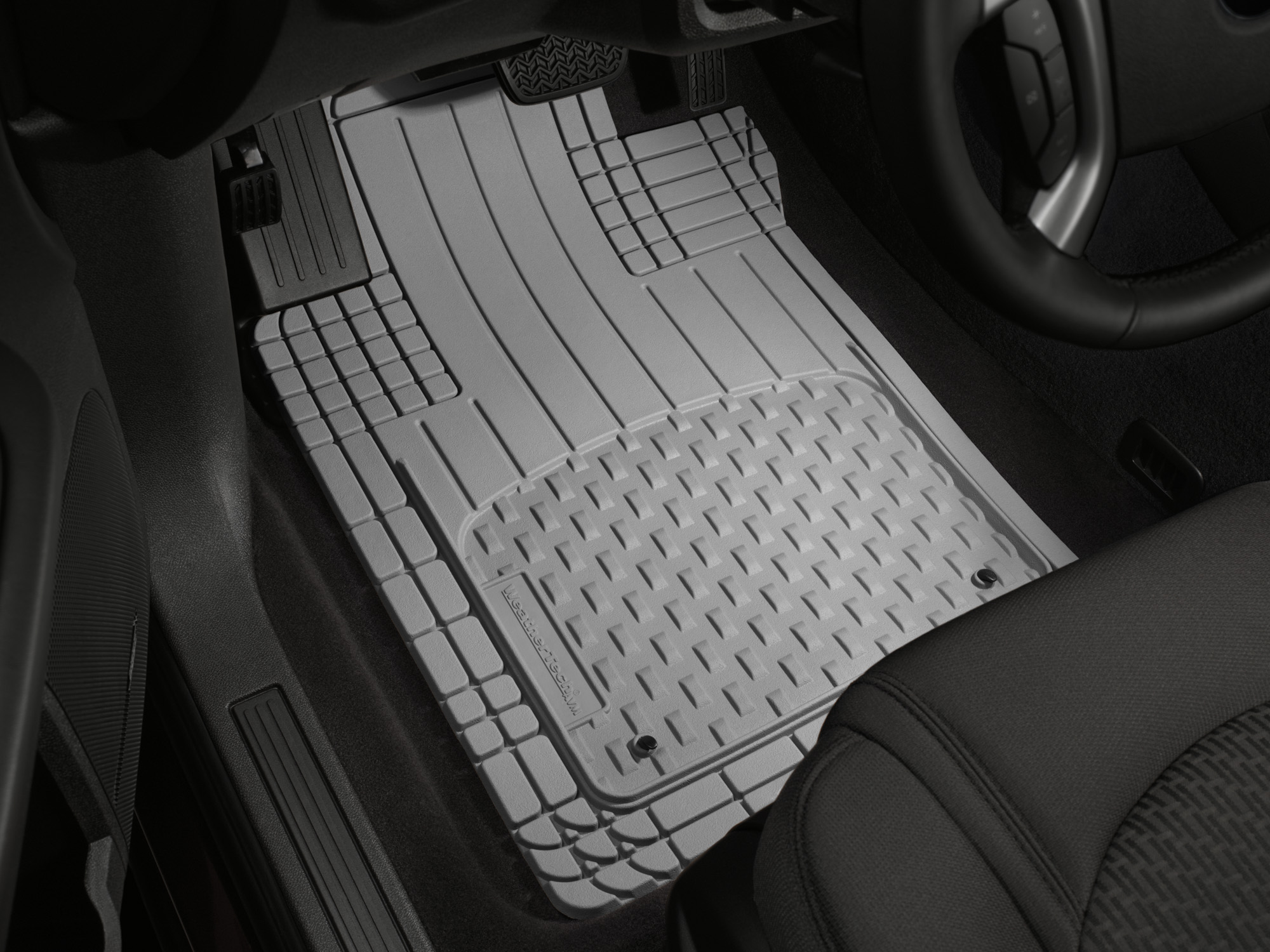 rubber salt weathertech mat road mats pin all flexible floor weather car traps water by season