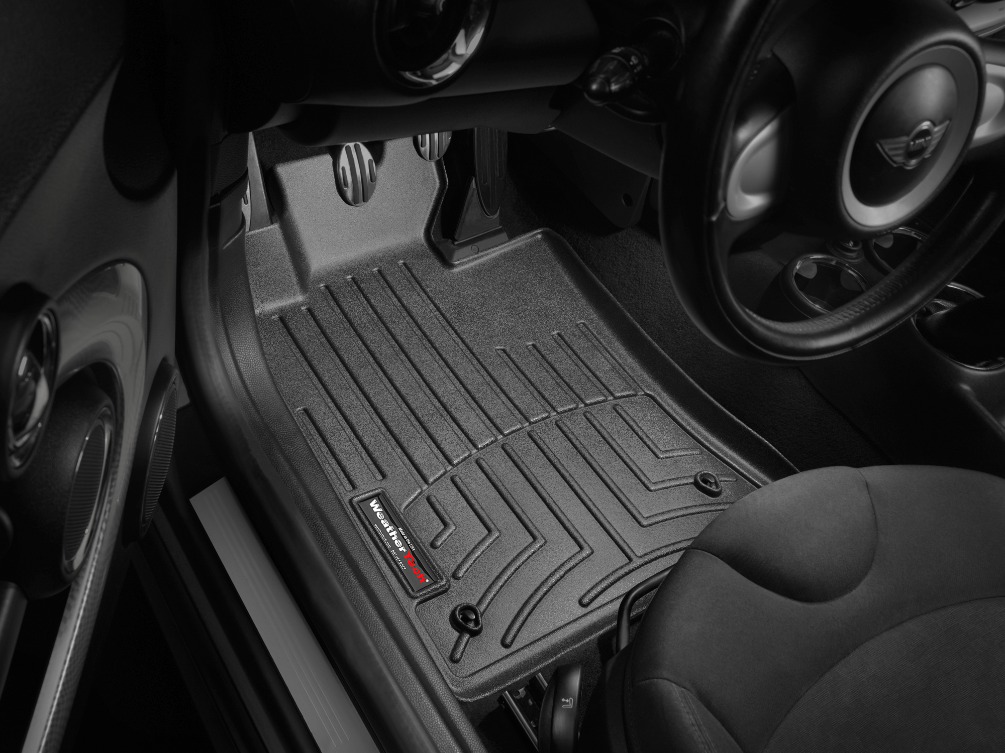 2015 Mini Roadster Avm Hd Floor Mats Heavy Duty Flexible Trim To