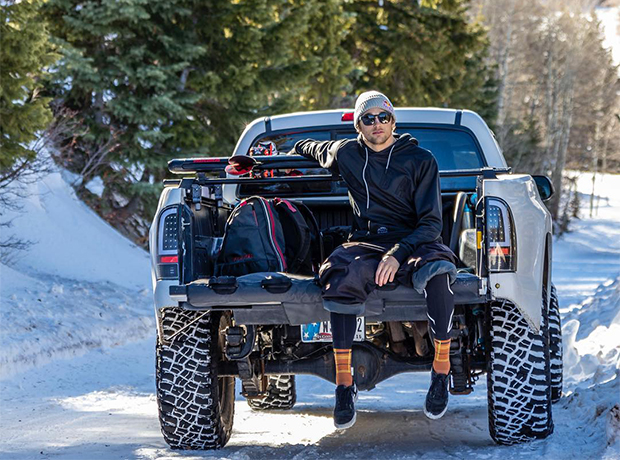 Kicking Up Snow and Taking Names with Nick Goepper