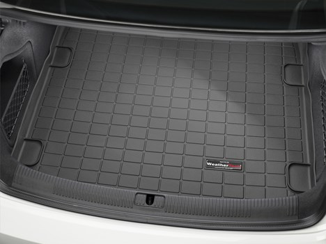 Element EXP.ELEMENT0422B10 Tailored Custom Fit Rubber Boot Liner Protector Mat-Audi A4 Saloon 2016 Black