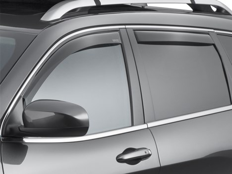 Grand Cherokee Side Window Air Deflector Deflectors Tinted Set Of 4 Mopar Oem