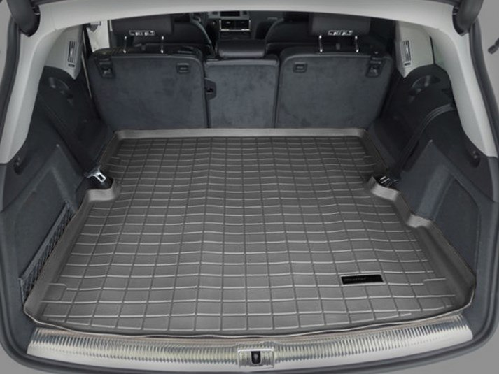 WeatherTech Custom Fit Cargo Liners for Audi Q7 Black