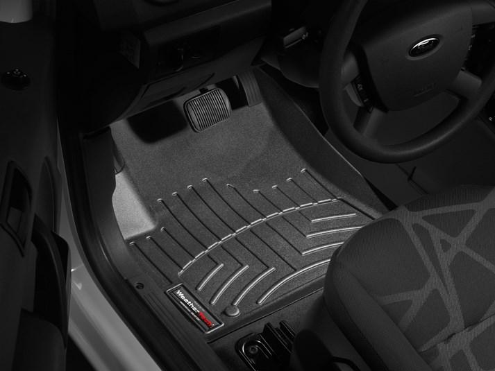 Ford Transit Connect Floor Mats Laser Measured Floor Mats - Rubber connecting floor mats