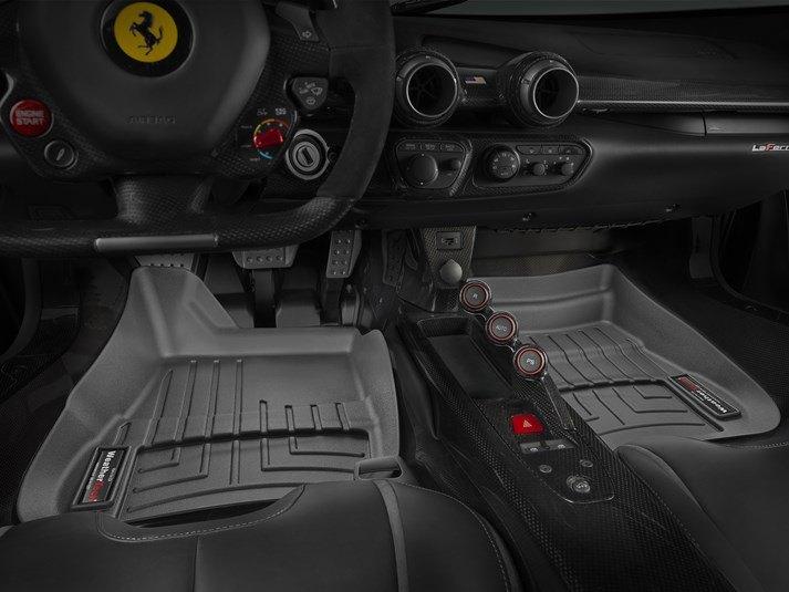 2014 Ferrari Laferrari Fußmatten Perfekte Passform Durch Laservermessung Weathertech Europe Germany De