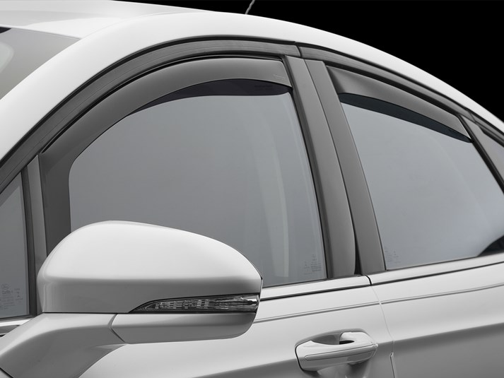 Rain Guards For Trucks >> 2018 Ford Fusion Rain Guards Side Window Deflectors For Cars
