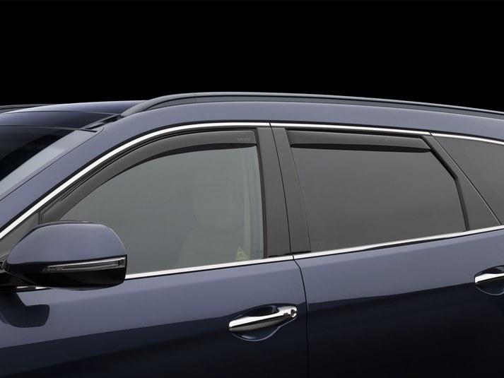 Hyundai 2017 Santa Fe Xl Side Window Deflectors