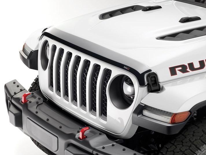 Motorhaube Windstein Deflektor Schutz Guard für Jeep Gladiator Wrangler JL 18-20