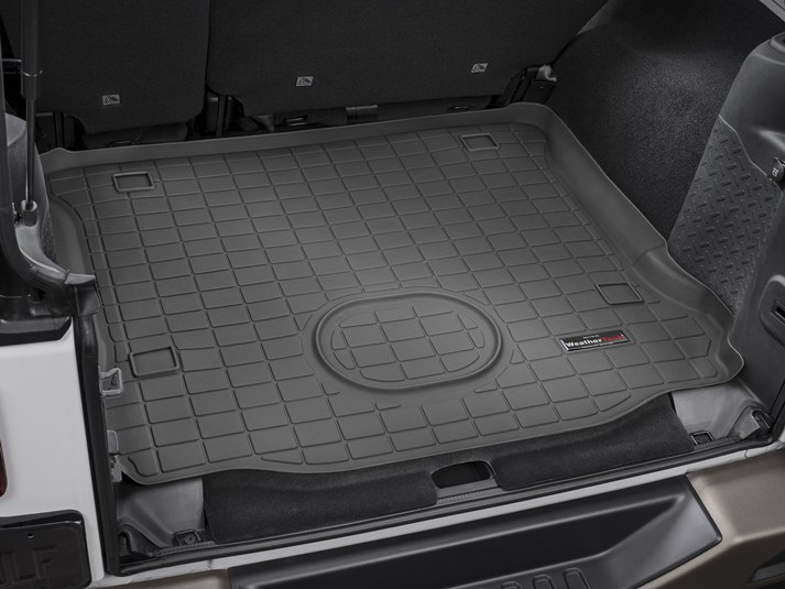 2017 Jeep Wrangler Unlimited Cargo Mat And Trunk Liner