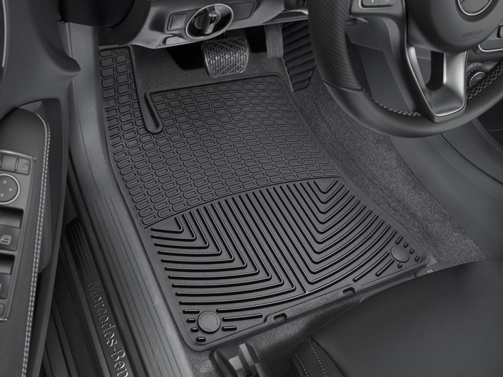 2018 Mercedes Benz GLA Class | All Weather Car Mats   All Season Flexible  Rubber Floor Mats | WeatherTech.ca