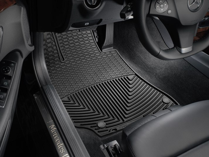 2018 Mercedes Benz CLS Class | All Weather Car Mats   All Season Flexible  Rubber Floor Mats | WeatherTech