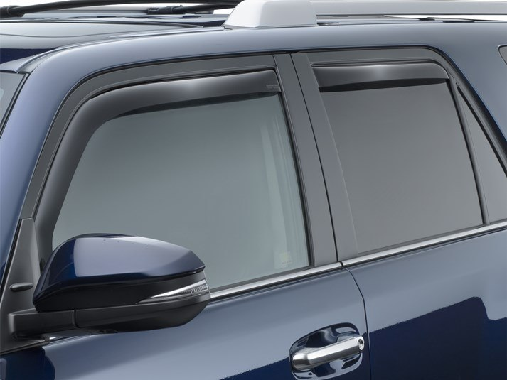 Rain Guards For Trucks >> 2019 Toyota 4runner Rain Guards Side Window Deflectors For Cars