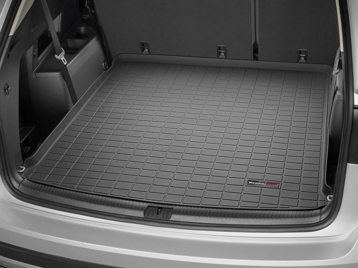 Custom Rubber Rear Bumper Protector Guard for 2018 2019 Volkswagen Atlas SUV