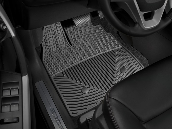 Ford Edge All Weather Car Mats All Season Flexible Rubber Floor Mats Weathertech
