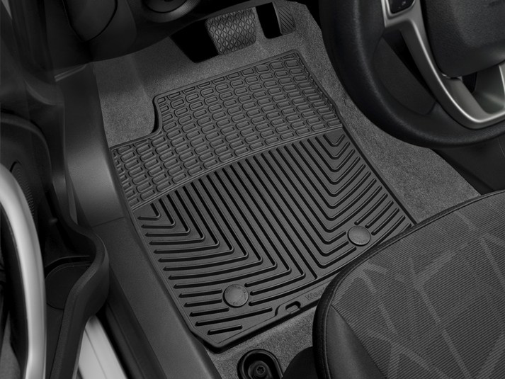 2017 Ford Fiesta All Weather Floor Matsflexible Mats For Your Vehicle Close Shown Detailed Image Of Product