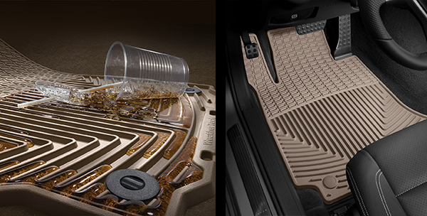 Close-up image of an WeatherTech All-Weather Floor Mat