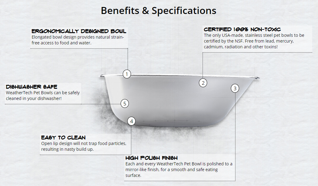 weathertech-pet bowls-benefits-and-specs