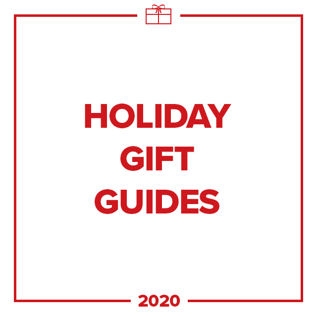 Image of text that says Holiday Gift Guide 2020.