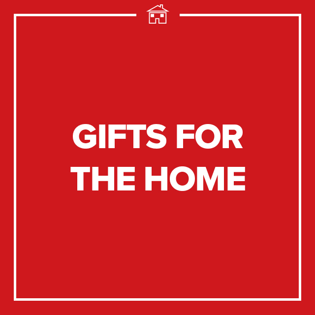 Image of text that says Gifts for the Home