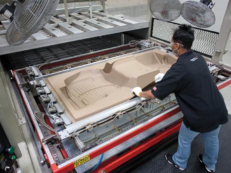 Manufacturing WeatherTech FloorLiners