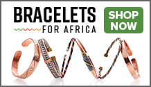 Help support struggling African families with these beaufiful handmade bracelets.