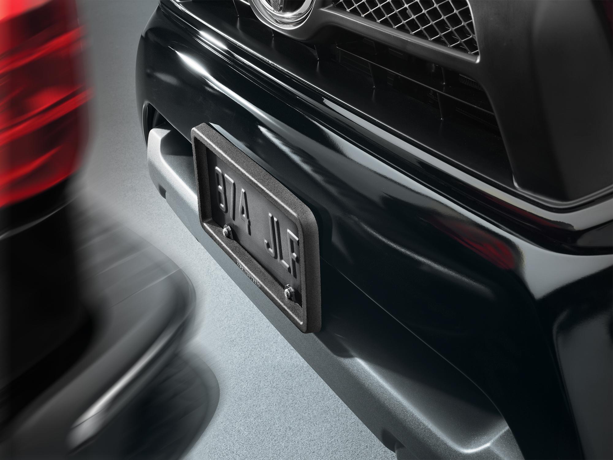WeatherTech BumpFrame installed on a vehicle.