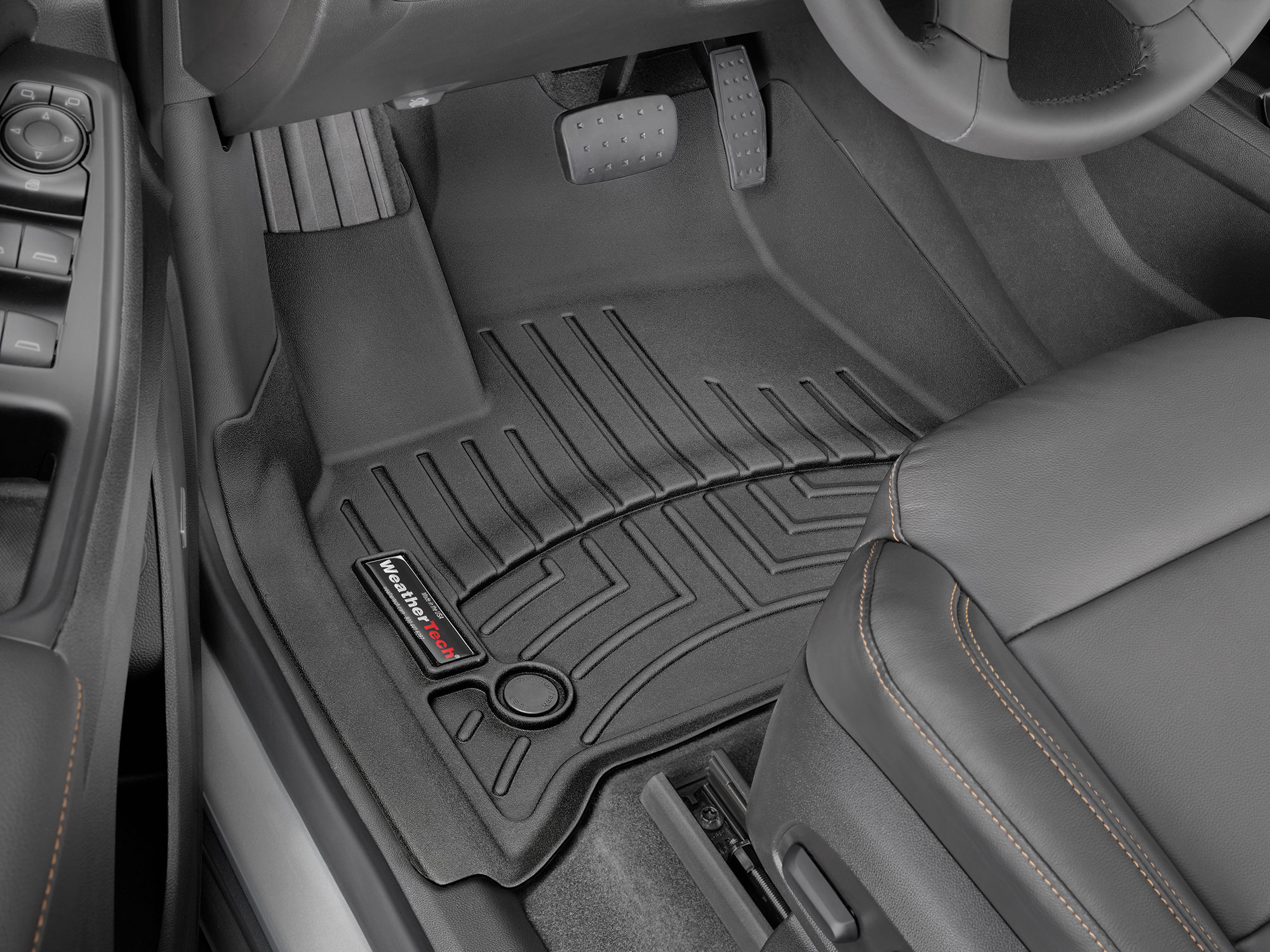 2018 Chevrolet Traverse Floor Mats Laser Measured For A Perfect Fit Weathertech