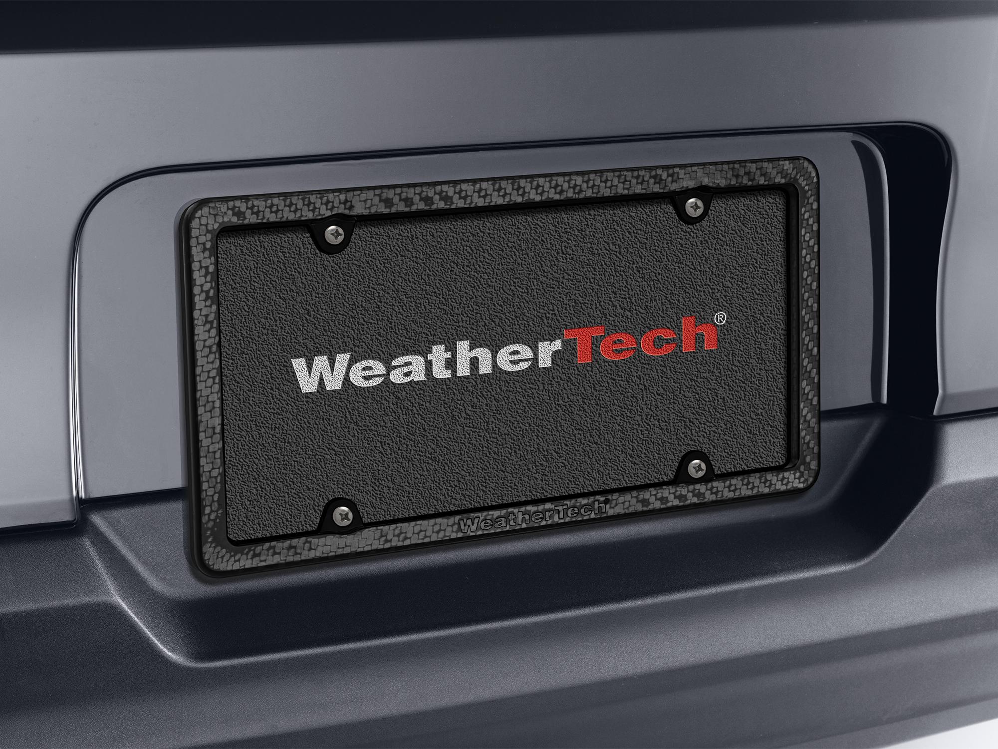 Carbon Fiber frame installed on a vehicle.