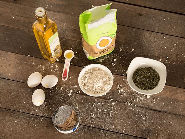 Catnip  Crouton Treats Ingredients