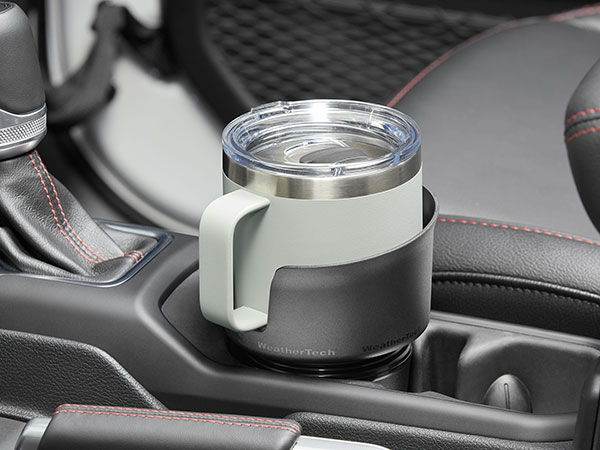 CupCoffee installed in car