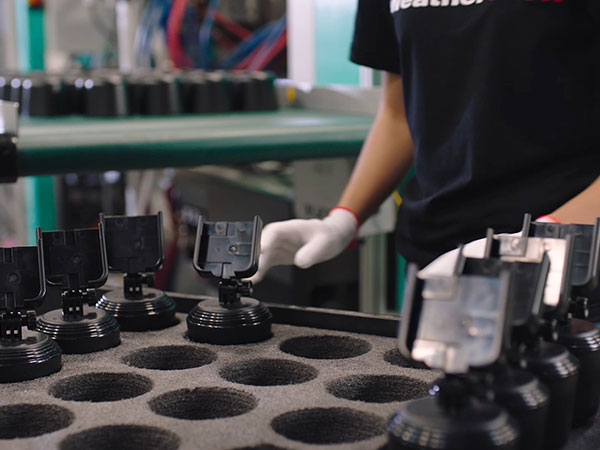 WeatherTech CupFones being assembled right in our Bolingbrook IL manufacturing facilities.