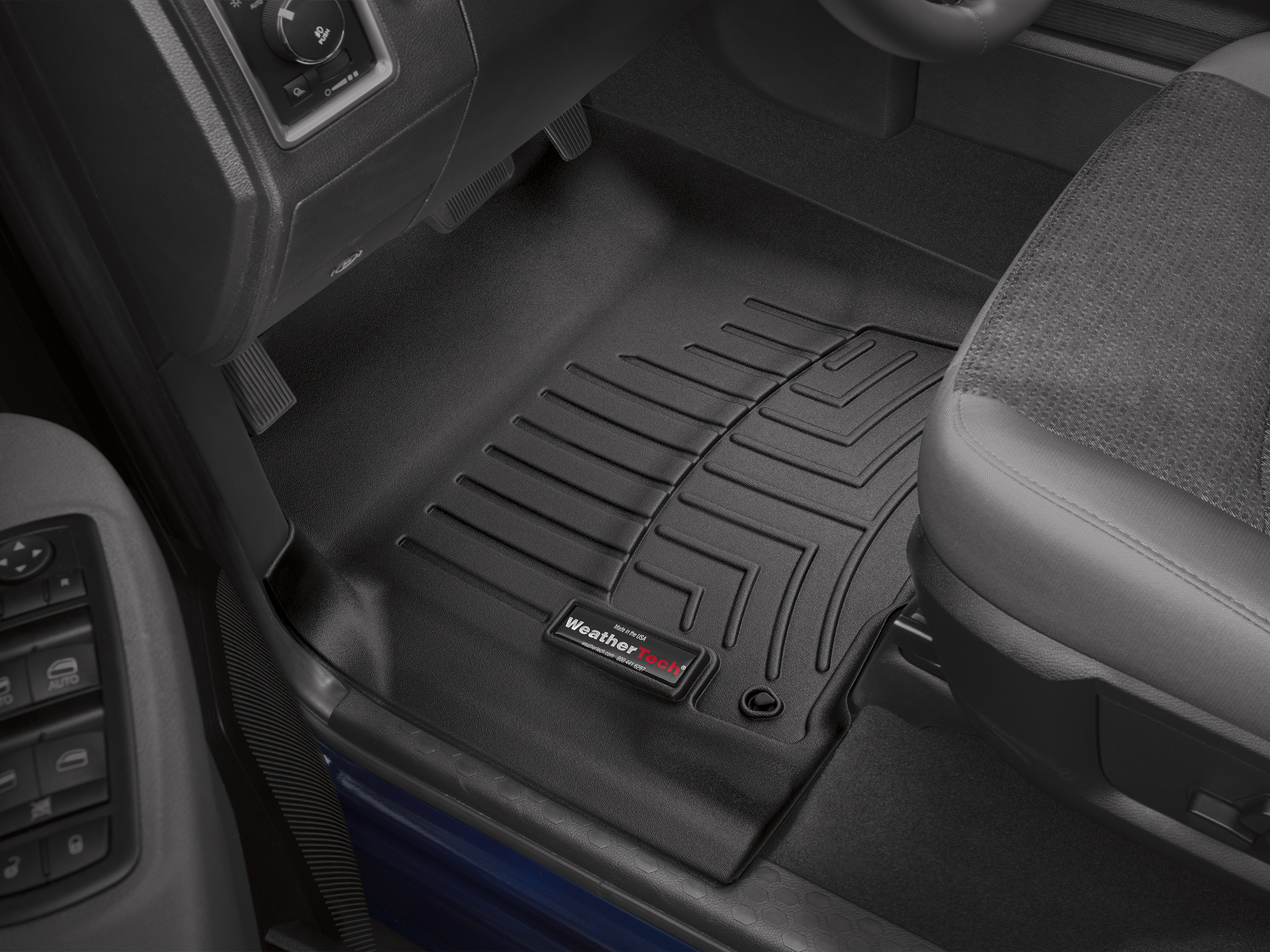 WeatherTech FloorLiner Mats for 2019 Dodge RAM Truck 1500 1st Row