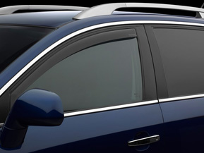 Front Dark Tint Side Window Deflectors