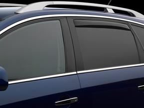 Rear Dark Tint Side Window Deflectors