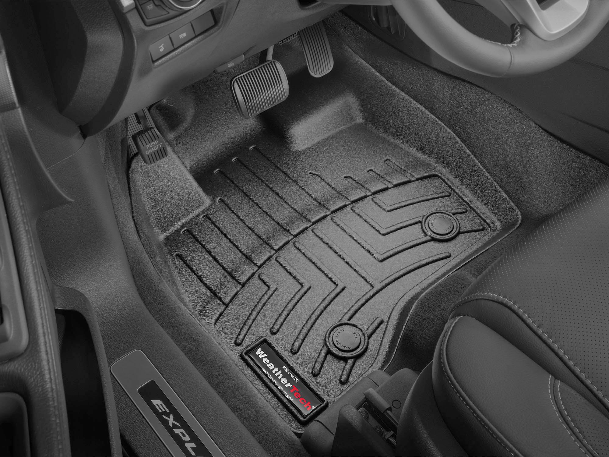 2015 Ford Explorer | AVM HD Floor Mats - Heavy Duty Flexible Trim to Fit  Mats | WeatherTech
