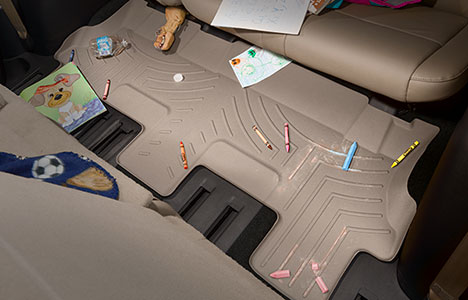 crayons and paper laying on floorliner