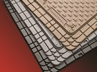 Three colors of WeatherTech All-Vehicle Mats. BY WEATHERTECH